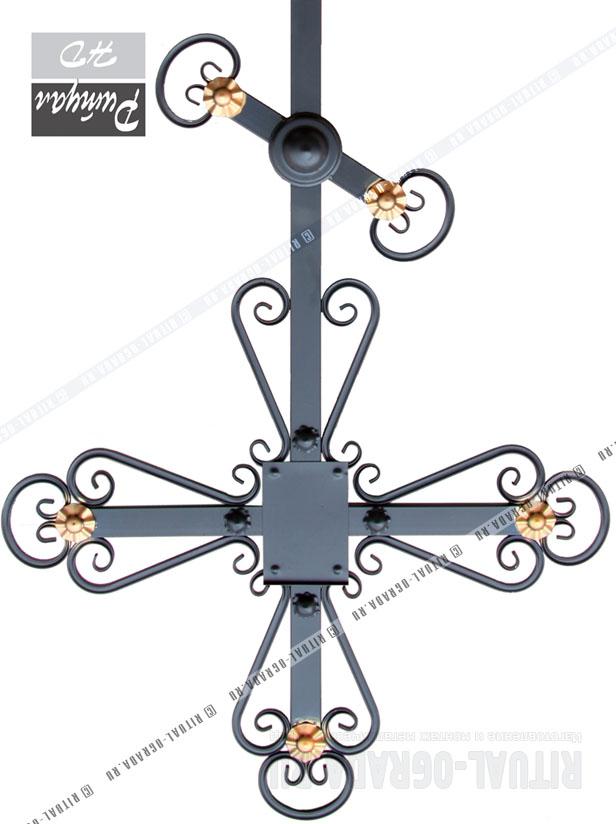 кресты металлические на могилу фото и цены